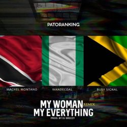 Patoranking oprasil hit z roku 2015 skvelym remix-om v spolupraci s Busy Signalo-om a Machel Montano-m